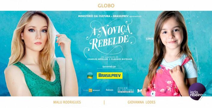 Malu Rodrigues e Giovanna Lodes